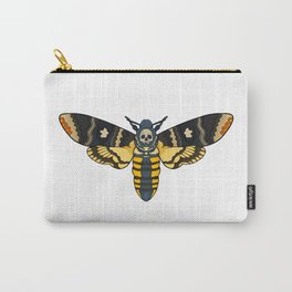 Single Death Moth Carry-All Pouch