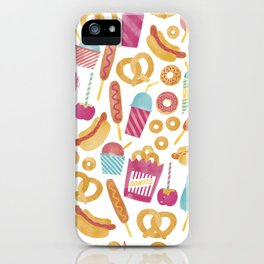 Carnival Food  iPhone Case