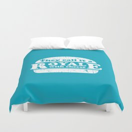 Pulp Fiction - royale with cheese Duvet Cover