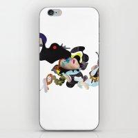 rhino iPhone & iPod Skins featuring Rhino by Maria Taari