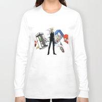 durarara Long Sleeve T-shirts featuring Heiwajima Shizuo 3 by Prince Of Darkness