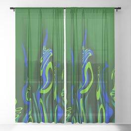 Tentacles Sheer Curtain