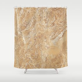 Mud Marble Texture Shower Curtain