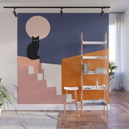 the double Wall Mural