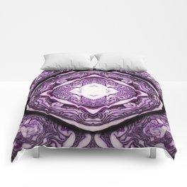 VeggieMandala Red Cabbage 3 Comforters