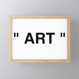 """"""" Art """" Framed Mini Art Print"""