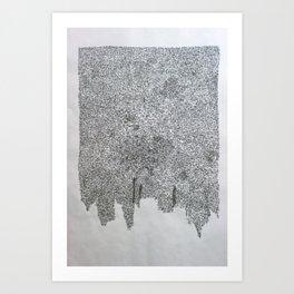 cota de malla - cote de mailles - mail (armour) Art Print