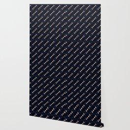 Dancing stars pattern Wallpaper