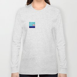 Soaring Higher and Higher with May - shoes stories Long Sleeve T-shirt