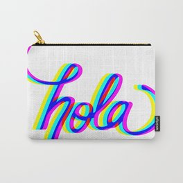 Hello Neon Carry-All Pouch