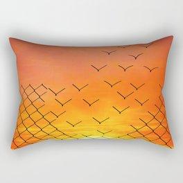 sunset escape Rectangular Pillow