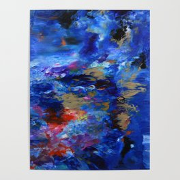 Ripples of Color Poster