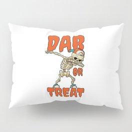 Dab Dabbing Skeleton Halloween Gift Idea Pillow Sham