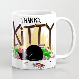Thanks, Kitty Coffee Mug