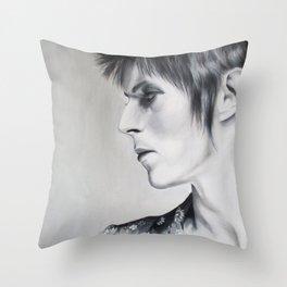 Ziggy Played Guitar Throw Pillow