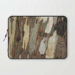 Eucalyptus Tree Exfoliating Bark Abstract Laptop Sleeve