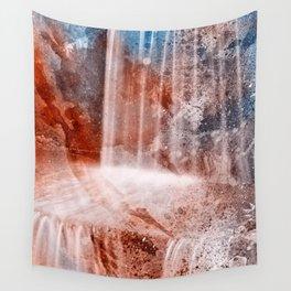 Acrylic Urbex Falls Wall Tapestry