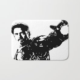 Iron Man - Robert Downey Jr Bath Mat