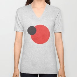 Red- Space is Hot Unisex V-Neck