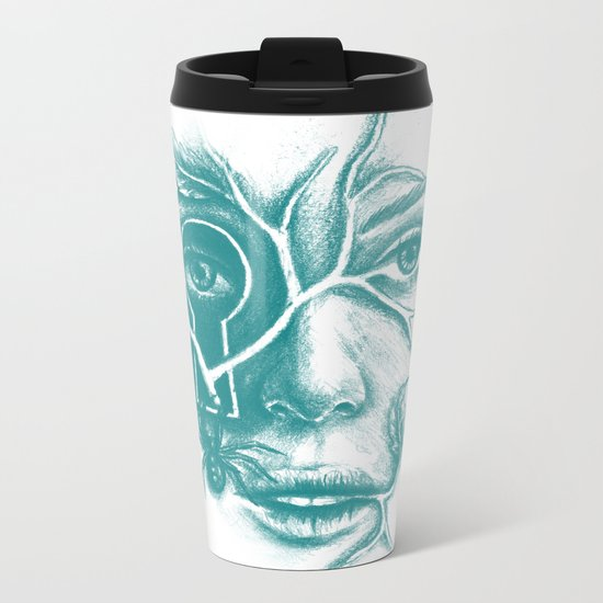 Courage and Insecurity Metal Travel Mug