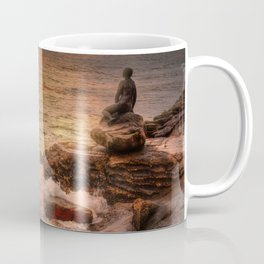 Folkestone At Sunrise Coffee Mug