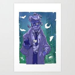 Commissioner Gorgon Art Print
