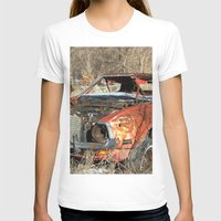 mustang T-shirts featuring Red Mustang by RangerTman