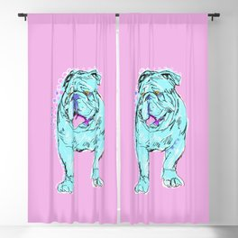 The Happy Bully Love of my Life! Blackout Curtain