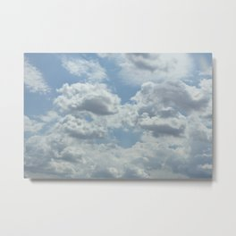 Dream Clouds Metal Print