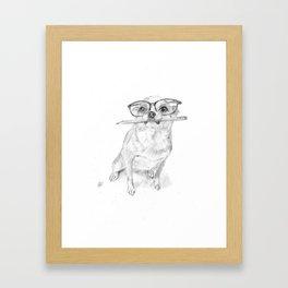 smarty Framed Art Print