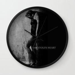 The Stolen Heart Wall Clock