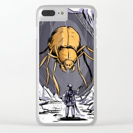 Spider Cave Clear iPhone Case