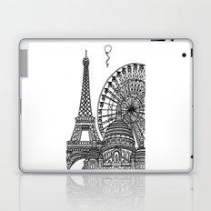 Paris Silhouettes Laptop & iPad Skin