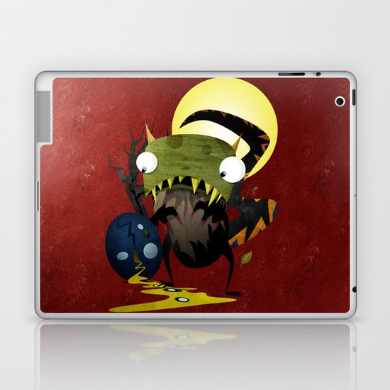 Who Cracked That Egg? Laptop & iPad Skin