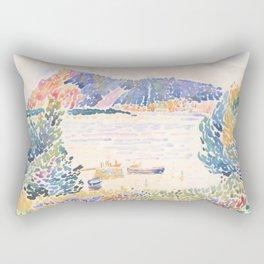 Cap Nègre by Henri-Edmond Cross 1909, French Rectangular Pillow