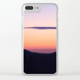 North Georgia Mountains at twilight Clear iPhone Case