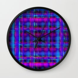 buzz grid 2 Wall Clock