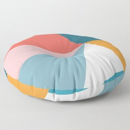Modern Geometric 34 Floor Pillow