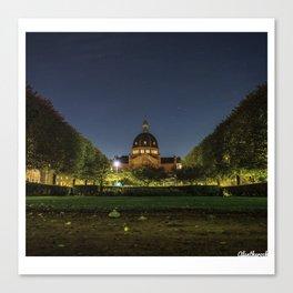 Clear Night Canvas Print