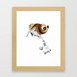 Nora's Fish Framed Art Print