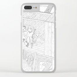 beegarden.works 012 Clear iPhone Case