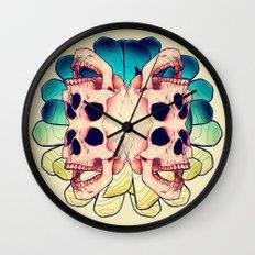 The Human Virus Wall Clock
