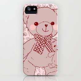 The Adventures of Bear and Baby Bear-Pastry2 iPhone Case
