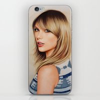 1989 iPhone & iPod Skins featuring Taytay 1989 by The Art Of Dreams