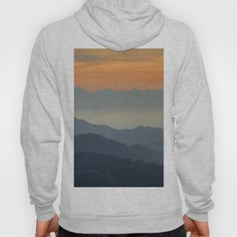 """""""Sunset at the mountains"""". Dreaming... Hoody"""