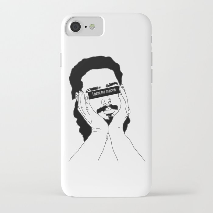 leave me malone iphone case
