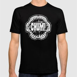 CHUM! Distressed Logo T-shirt