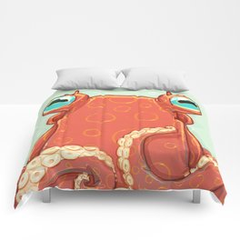 Goldie the Octopus Comforters