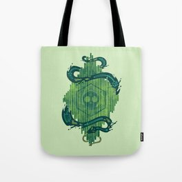 Green is the Color of Death Tote Bag