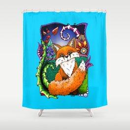 Lady Fox ZIA Shower Curtain